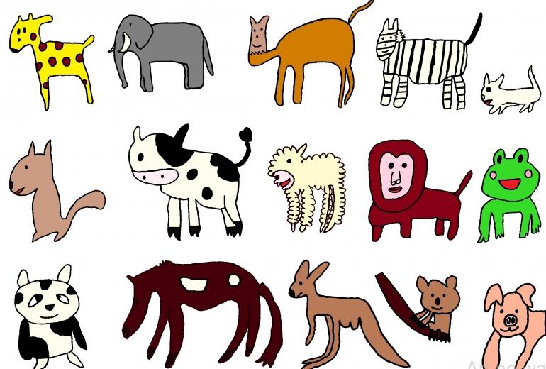 動物15種