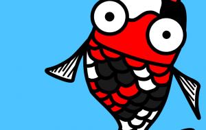 ぷっちょりした魚 - 神徳竜輝