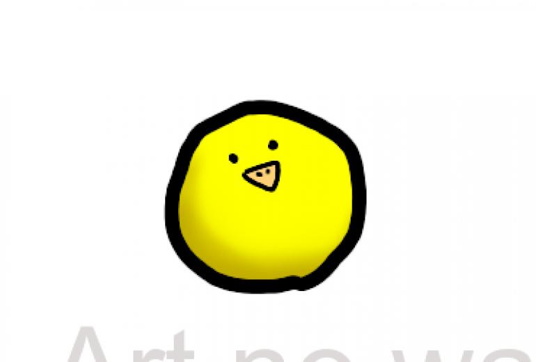 黄色いヒヨコ