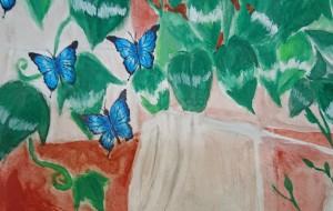 青い蝶々 - 天狗