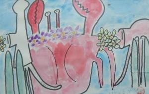 海底で花吹く動物達 - HAKKENNTAKADA