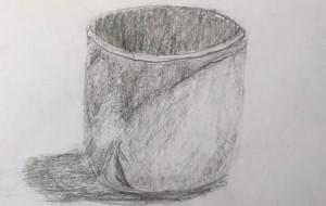 A sketch of a cup - Yugo