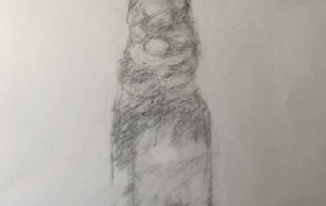 A sketch of a lemonade bottle - Yugo
