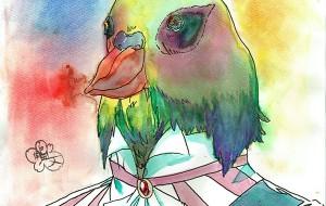 鳥の王ロプロプ - 角田文梅