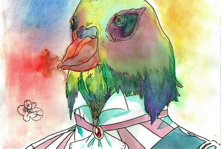 鳥の王ロプロプ