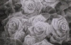 白薔薇図 - mo
