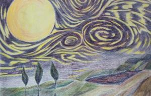 満天の星 - 三日月 克年