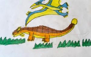 恐竜シリーズ(ケラトサウルス、プテラノドン) - ゆうき