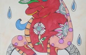 石の上にも赤ガエル - MIYUKI
