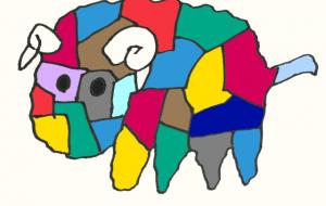 ワイルドカラー羊 - ワイルドサイレントウルフ