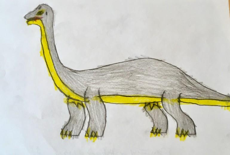 恐竜シリーズ(ブラキオサウルス)