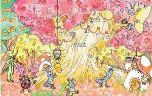虫たちの収穫祭 - 虎目梨那