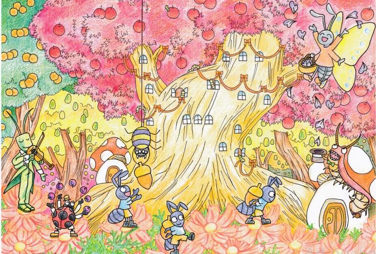 虫たちの収穫祭