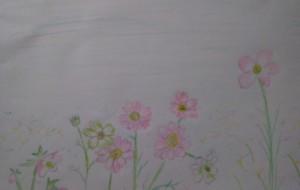花を描く - ふじお