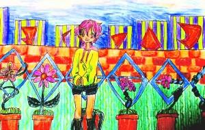 お花屋さんごっこ - 五月ツヅジ