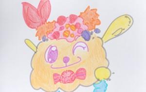 キャンディマスコット - クルミ
