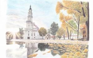 秋の教会 - cocoa float