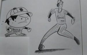 野球選手  (コミカル、リアル) - ポポリ