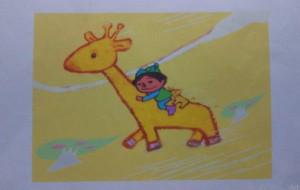 キリンにのる少年 - ポポリ