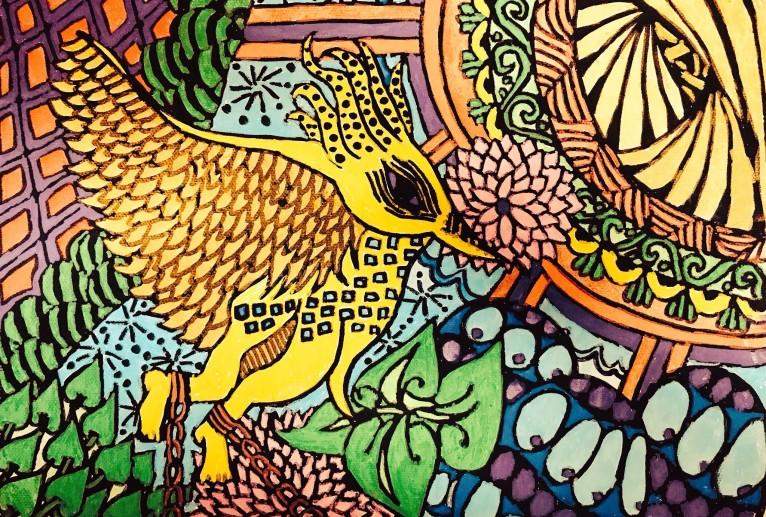 ムスティエ王国の鳥 - フェサギ