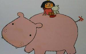 カバと女の子 - ポポリ