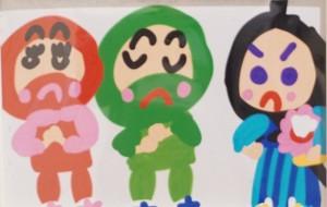 NO46 にんじゃ_本田未和 - 第3回鶴ヶ島市立中央図書館 「障がい者アート絵画展」2019