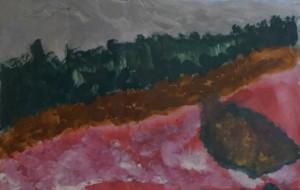 NO3 芝桜_篠沢基来 - 第3回鶴ヶ島市立中央図書館 「障がい者アート絵画展」2019