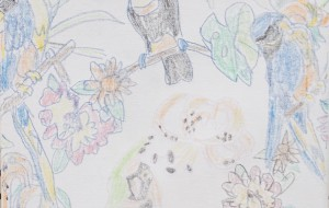 NO49 南国_草間雄一 - 第3回鶴ヶ島市立中央図書館 「障がい者アート絵画展」2019