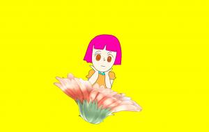 カラフルな女の子 - kashinoki