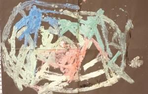 NO50 色_大久保明飛 - 第3回鶴ヶ島市立中央図書館 「障がい者アート絵画展」2019