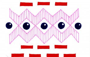 暖色のパターン - 虎目梨那