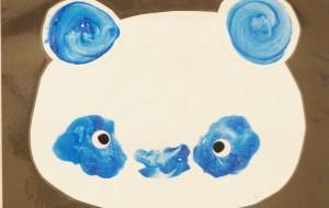 NO62 かおぱんだ_岡田琴音 - 第3回鶴ヶ島市立中央図書館 「障がい者アート絵画展」2019