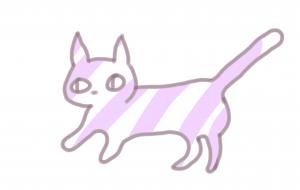 縞な猫 - 西原永恵