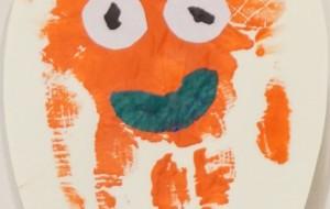 NO61 手クラゲ_盛 花歩 - 第3回鶴ヶ島市立中央図書館 「障がい者アート絵画展」2019