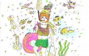 海の中のわたし - kashinoki