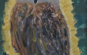 NO3 フクロウ_篠沢基来 - 第3回鶴ヶ島市立中央図書館 「障がい者アート絵画展」2019