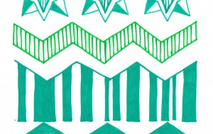 緑のパターン - 虎目梨那