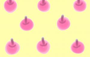 並ぶ林檎 - 西原永恵