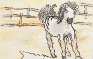 NO5 無題_篠崎裕汰 - 第3回鶴ヶ島市立中央図書館 「障がい者アート絵画展」2019