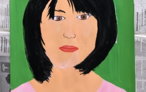 My mother's portrait - Yugo