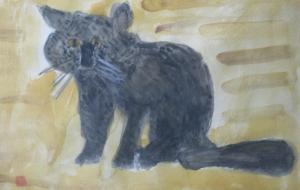 冬の猫 - マサミ