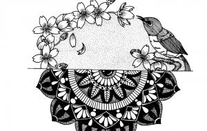 桜と目白 - 豆狸  冴子