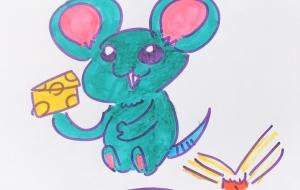 ネズミとチーズ - クルミ
