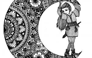 月の曼荼羅 - 豆狸  冴子