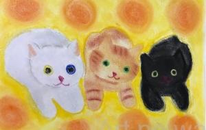 3匹のネコ - ナカリ