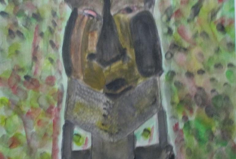 アフリカの男1