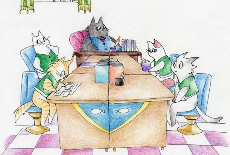 猫の事務所(宮沢賢治)