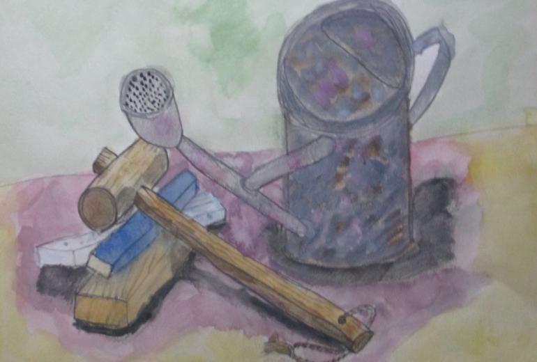 庭仕事の道具