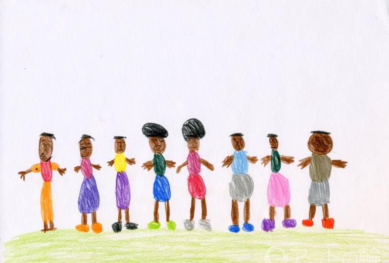 アフリカの子ども達