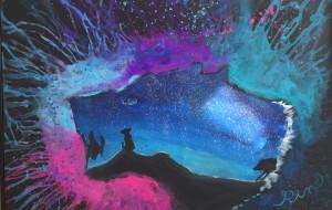 オオカミ(きらりアート展) - RINA